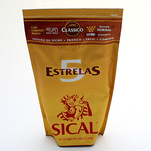 Cafe Sical torrado moido M/Normal(P/Maquina) 250g